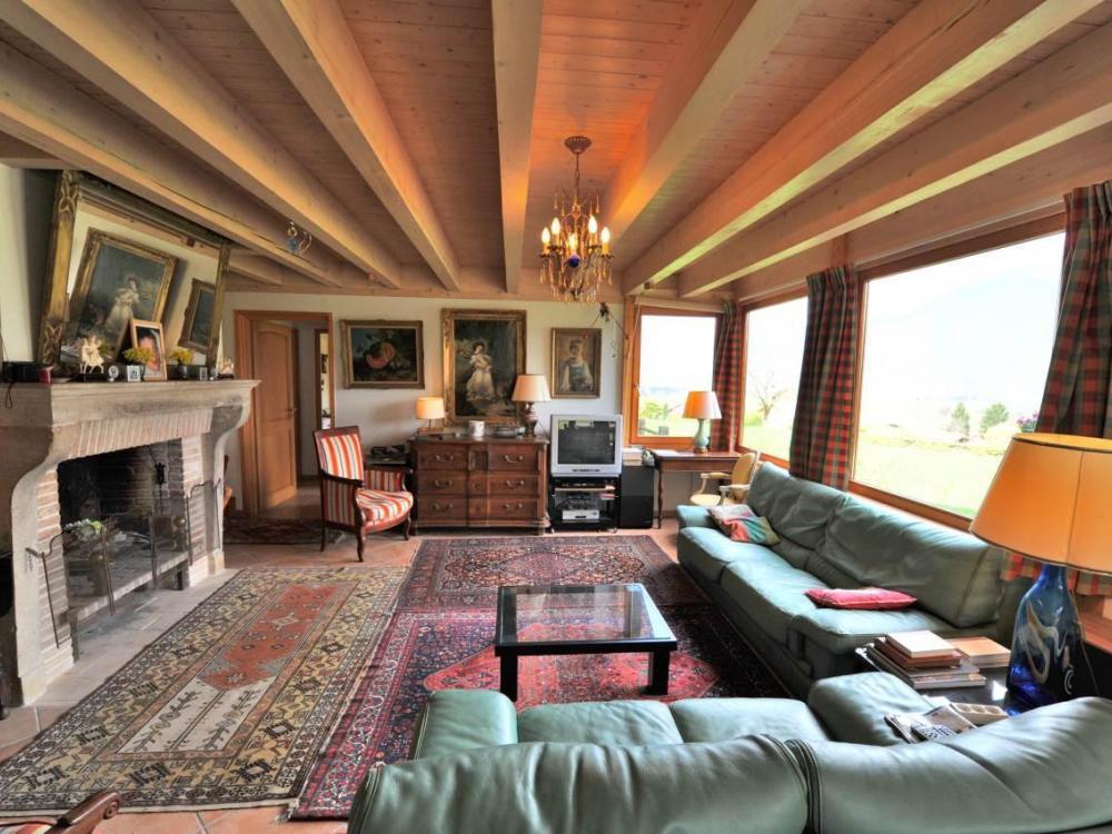 Maison Annecy rive ouest séjour