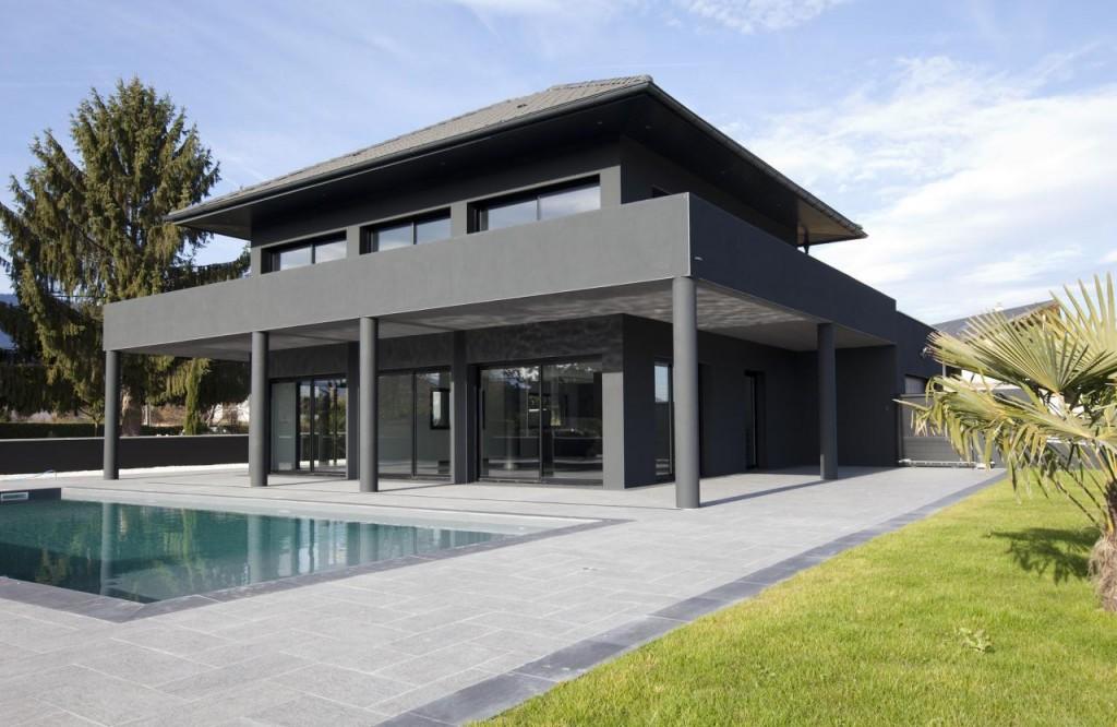 maison ultra contemporaine entre aix les bains et chamb ry vendre. Black Bedroom Furniture Sets. Home Design Ideas