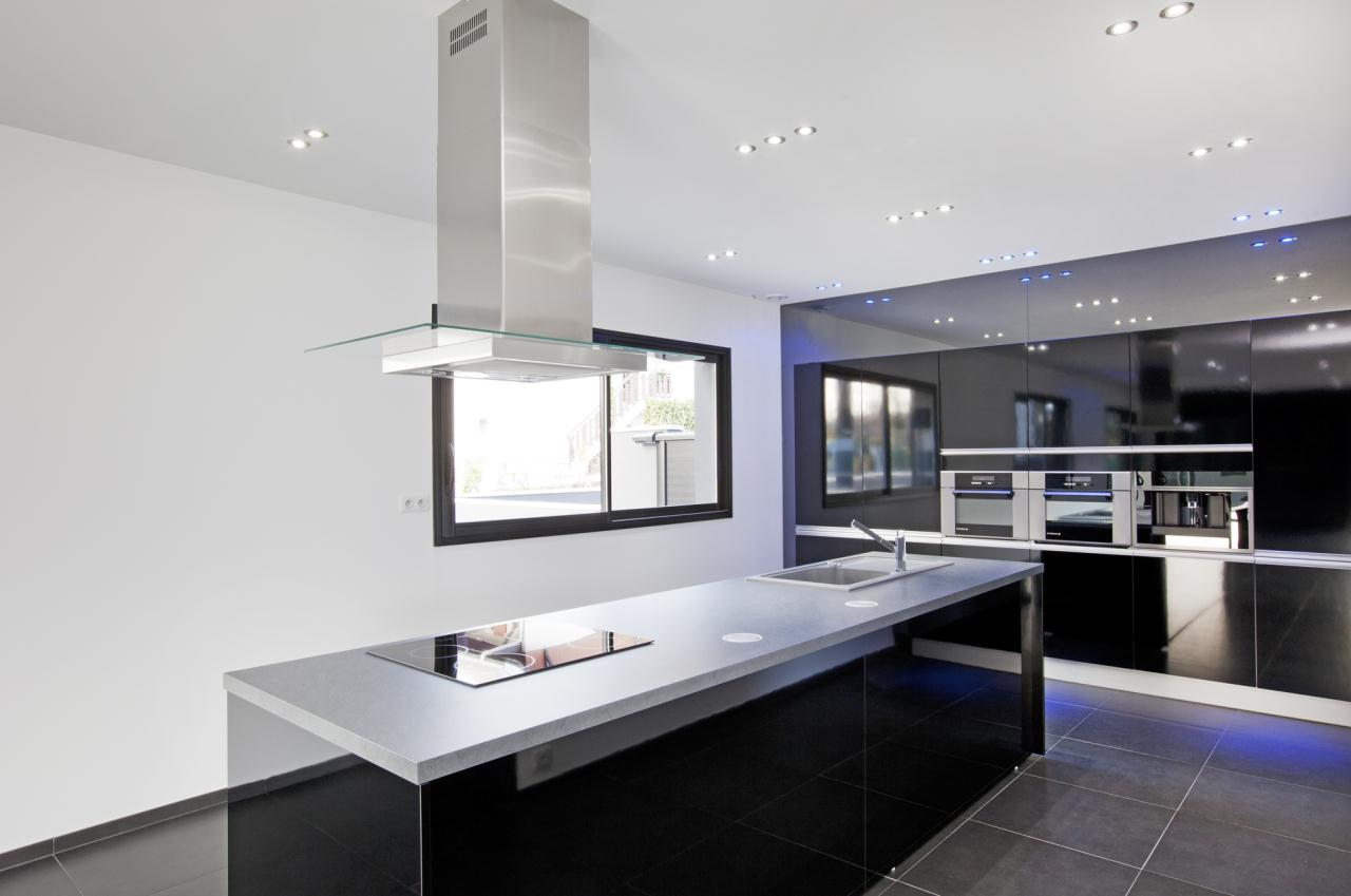 Maison ultra contemporaine entre aix les bains et chamb ry Villa de luxe design