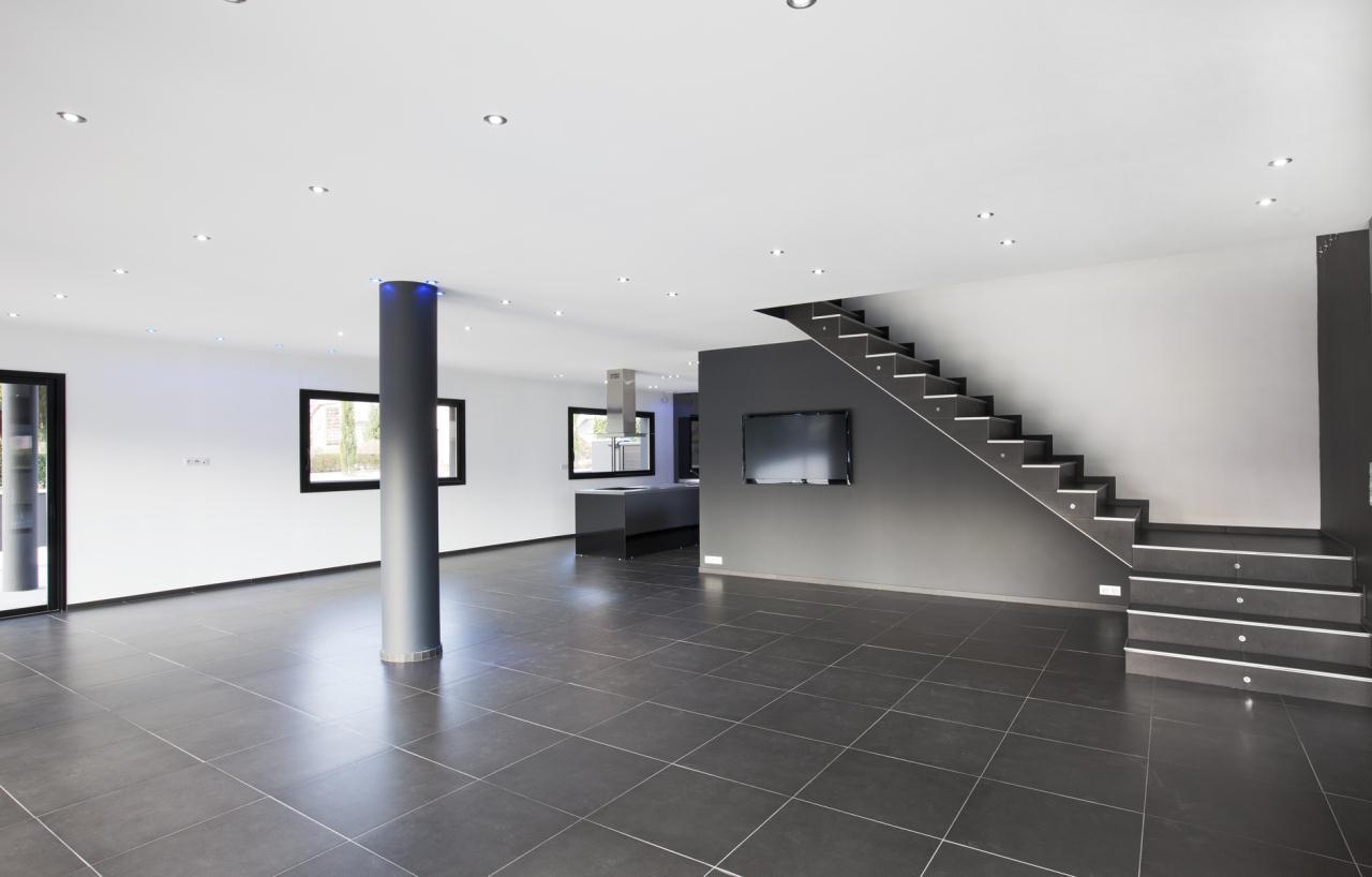 Villa neuve ultra contemporaine aix les bains chambery intérieur