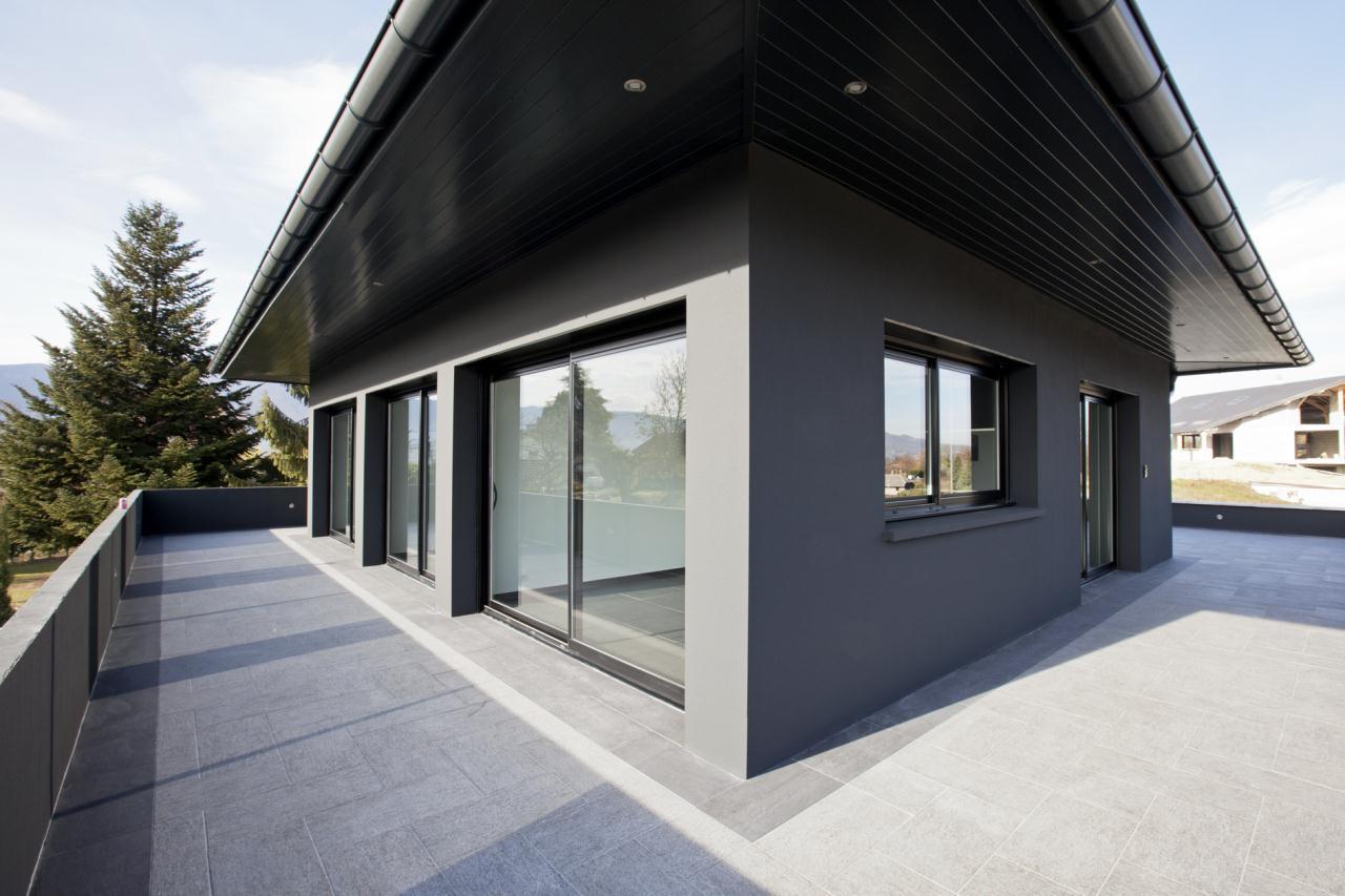 terrasse maison moderne maison moderne. Black Bedroom Furniture Sets. Home Design Ideas