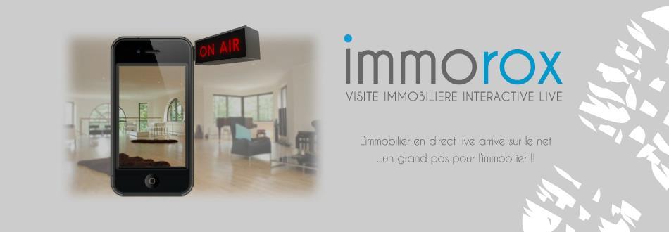 Immorox : une appli smartphone de visite immobilière interactive live
