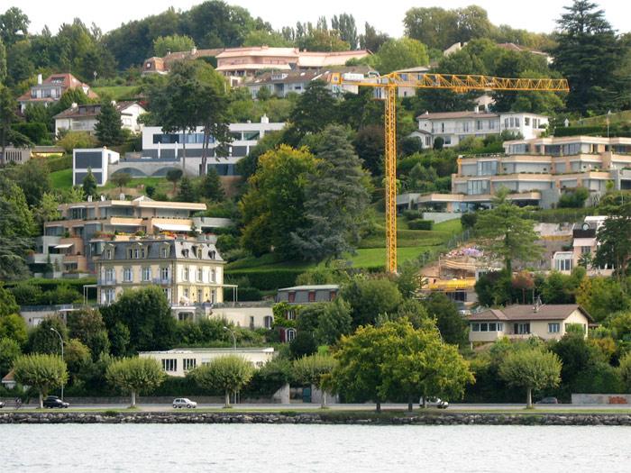 Immobilier de luxe à Genève : stabilisation des prix