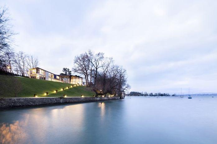 Une villa à 58 millions à vendre près de Genève, en Suisse