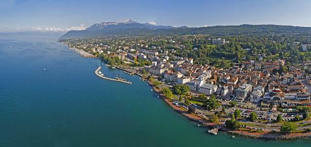 Un regard sur l'immobilier à Evian-les-Bains